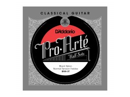 BNN-3T PRO-ARTE CLASSICAL HALFSETS BLACK NYLON NORMAL TENSION