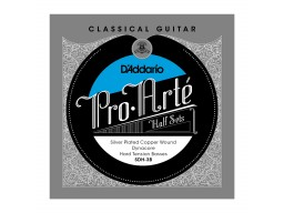 SDH-3B PRO-ARTE CLASSICAL HALFSETS DYNACORE SILVER HARD TENSION