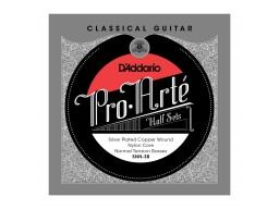 SNN-3B PRO-ARTE CLASSICAL HALFSETS SILVER NORMAL TENSION
