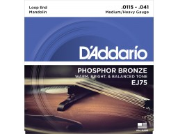 EJ75 Mandolin Strings Phosphor Bronze Medium/Heavy [11.5-41]