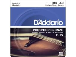 EJ75 Mandolin Strings Phosphor Bronze Medium/Heavy [11.5-41]