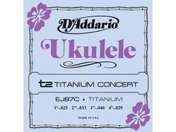 EJ87C Titanium Ukulele Concert