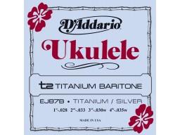 EJ87B Titanium Ukulele Baritone