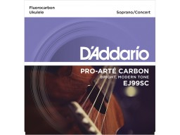 EJ65S Pro-Arté Custom Extruded Nylon Ukulele Strings, Soprano