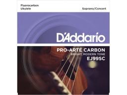 EJ65S Pro-Arté Custom Extruded Nylon Ukulele Strings, Soprano