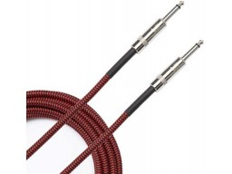 BRAIDED CABLE RED 3M