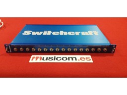 SWITCHCRAFT PATCHBAY PT16TRS2DB25