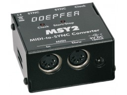 DOEPFER MSY2 MIDI TO-SYNC-CLOCK INTERFACE