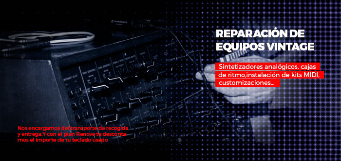 Reparación equipos vintage